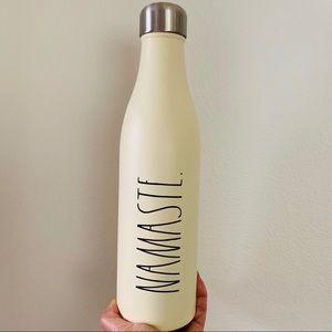 Rae Dunn NAMASTE Stainless Steel Water Bottle 25OZ
